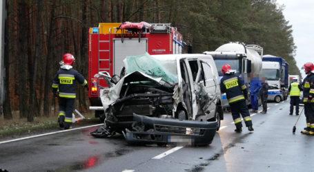 Wypadek na DK11 między Piłą a Dobrzycą