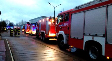 Duży pożar w Jastrowiu