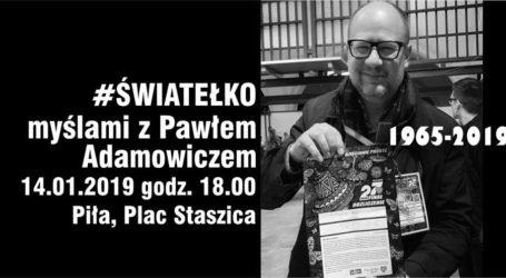 Piła dla zmarłego prezydenta Gdańska