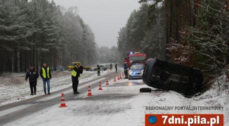 Wypadek na drodze Piła – Kaczory
