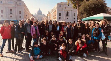 Uczniowie z SP 1 we Włoszech