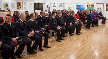 Strażacy podsumowali rok i pożegnali zastępcę komendanta