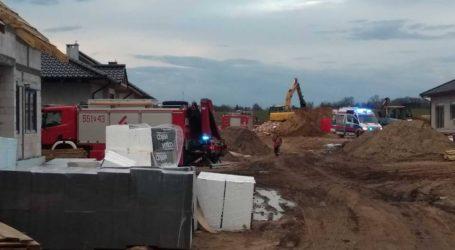 Tragedia na budowie. Nie żyje mężczyzna