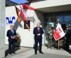 Uroczyste odsłonięcie tablicy pamiątkowej na zakończenie obchodów 100-lecia Powstania Wielkopolskiego