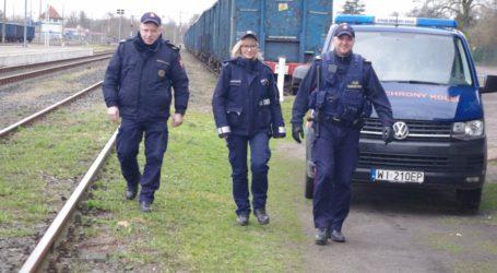 Dzielnicowi i straż kolei we wspólnych patrolach