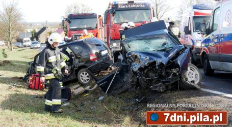 Śmiertelny wypadek na krajowej 10