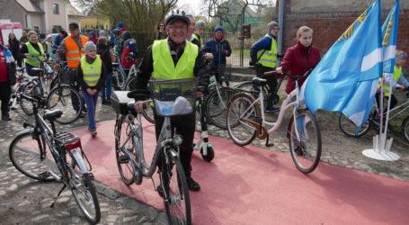 Otwarcie ścieżek rowerowych w Kaczorach