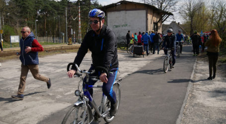 W Kaczorach otwarto ścieżki rowerowe
