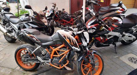 13 motocykli skradzionych z Wielkiej Brytanii