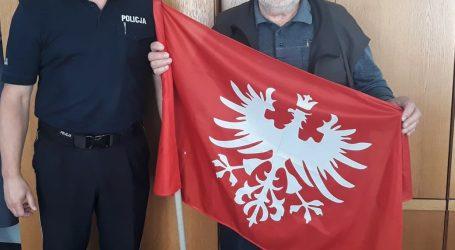Ukradł flagę Powstania Wielkopolskiego