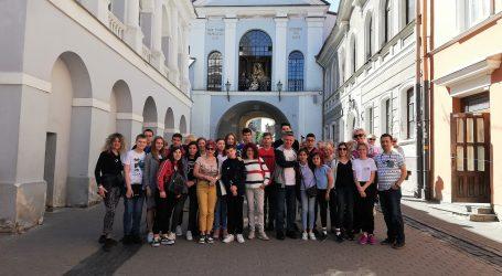 Uczniowie SP 1 w Pile odwiedzili Litwę