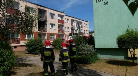 Pożar w mieszkaniu. 7 osób zostało ewakuowanych