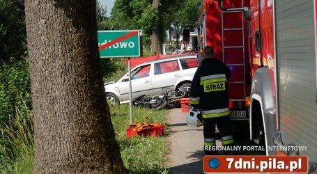 Wypadek w Szydłowie. Motocyklista walczy o życie – AKTUALIZACJA