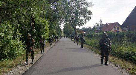 Pierwsze szkolenie terytorialsów w Dolaszewie