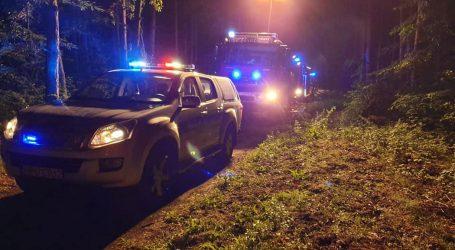 Policyjny pościg zakończony wypadkiem w lesie