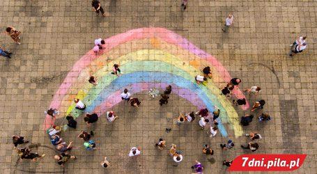 Tęcza LGBT+ w Pile