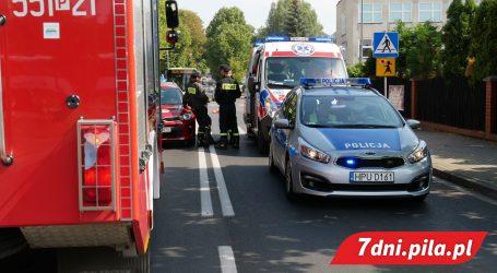 3 osoby poszkodowane po wypadku przy Intermarche