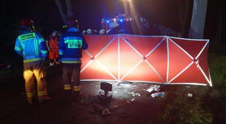 Śmiertelny wypadek na trasie Szamocin – Białośliwie – FOTO