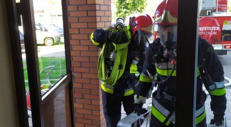 Strażacy ćwiczyli na wieżowcach