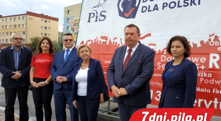 PiS zainaugurowało kampanię w regionie