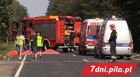 Śmiertelny wypadek na drodze Piła – Dobrzyca