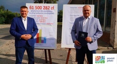 Ponad 8 mln zł na remonty dróg w powiecie pilskim