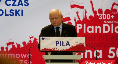 Jarosław Kaczyński w Pile