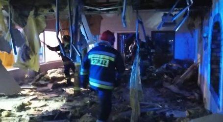 Pożar restauracji w Laskowie