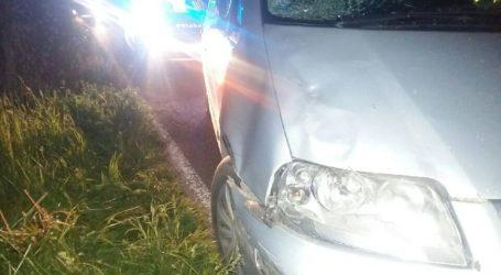 Wypadek w Dobrzyniewie. Nie żyje pieszy