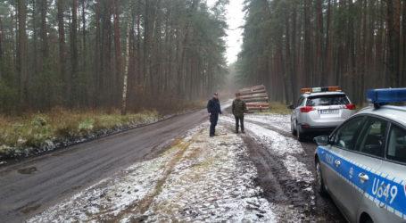 Wspólne działania policji i Straży Leśnej