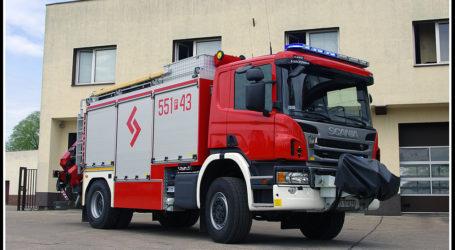 Nowy wóz pilskich strażaków