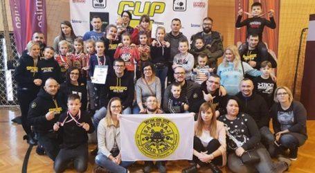 Samuraj Gold Team na zawodach Jiu Jitsu w Mosinie
