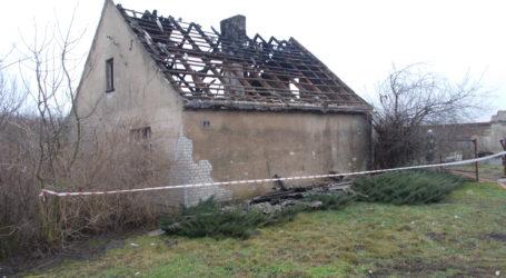 Tragiczny pożar w Stołężynie. Znaleziono zwęglone zwłoki