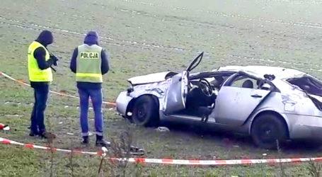 Poważny wypadek na drodze Szydłowo – Skrzatusz – AKTUALIZACJA