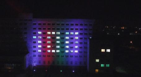 Iluminacja pilskiej policji