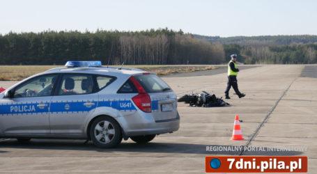 Tragiczny wypadek na lotnisku w Pile