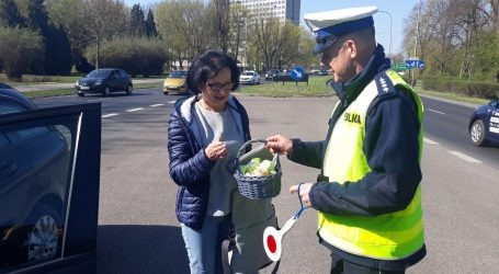Wielkanocne jaja od pilskich policjantów