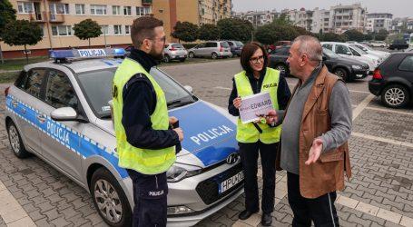 Policjanci promowali Europejski Dzień Bez Ofiar Śmiertelnych na Drogach