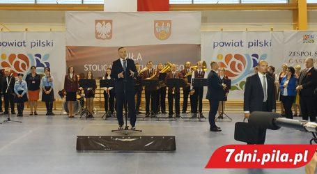 Prezydent Andrzej Duda w Pile